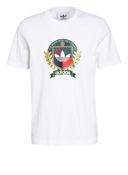 adidas Originals T-Shirt COLLEGE CREST, Farbe: WEISS (Bild 1)