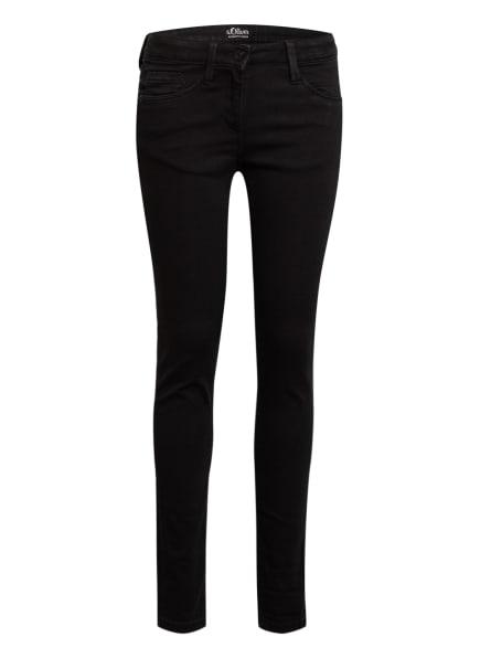 s.Oliver RED Jeans Slim Fit, Farbe: SCHWARZ (Bild 1)