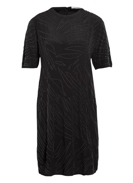 BOSS Kleid DELIGHT mit Nietenbesatz, Farbe: SCHWARZ (Bild 1)