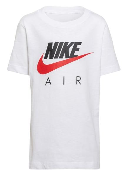 Nike T-Shirt, Farbe: WEISS/ SCHWARZ/ ROT (Bild 1)