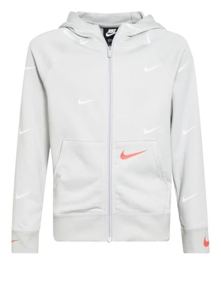 Nike Sweatjacke SWOOSH, Farbe: HELLGRAU (Bild 1)
