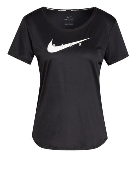 Nike Laufshirt SWOOSH RUN, Farbe: SCHWARZ (Bild 1)