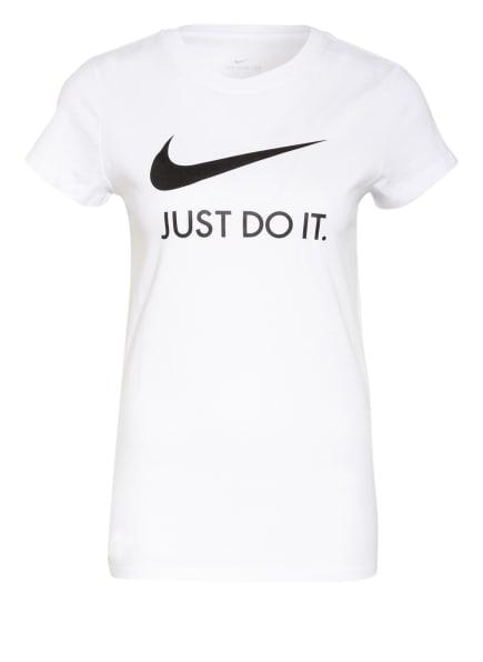 Nike T-Shirt SPORTSWEAR JUST DO IT, Farbe: WEISS/ SCHWARZ (Bild 1)