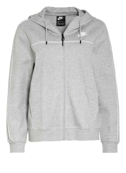 Nike Sweatjacke MILLENNIUM, Farbe: HELLGRAU (Bild 1)