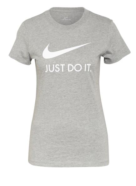 Nike T-Shirt SPORTSWEAR JUST DO IT, Farbe: GRAU (Bild 1)