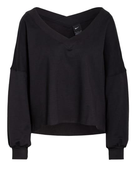 Nike Sweatshirt YOGA OFF-MATT, Farbe: SCHWARZ (Bild 1)