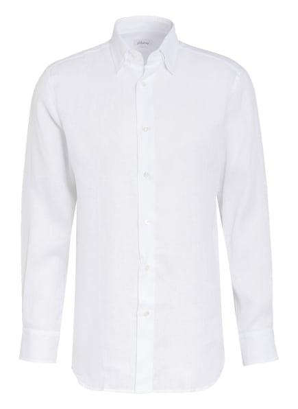 Brioni Leinenhemd SCAYOL Comfort Fit, Farbe: WEISS (Bild 1)