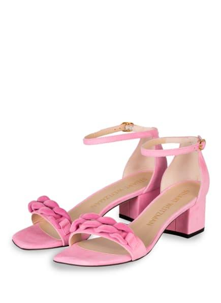 STUART WEITZMAN Sandaletten AMELINA, Farbe: ROSA (Bild 1)