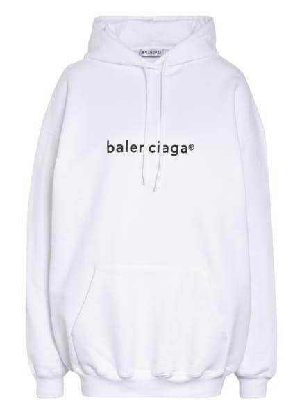 BALENCIAGA Oversized-Hoodie, Farbe: WEISS (Bild 1)