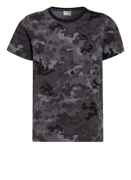 PUMA T-Shirt, Farbe: DUNKELGRAU/ GRAU/ SCHWARZ (Bild 1)