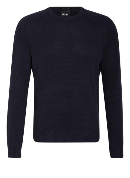 BOSS Cashmere-Pullover DAVIDO, Farbe: DUNKELBLAU (Bild 1)