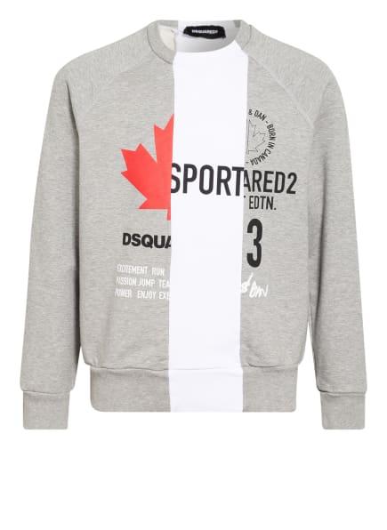 DSQUARED2 Sweatshirt, Farbe: HELLGRAU (Bild 1)