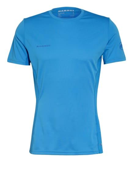 MAMMUT T-Shirt SERTIG mit Mesh-Einsatz, Farbe: BLAU (Bild 1)
