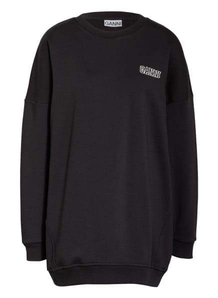 GANNI Oversized-Sweatshirt , Farbe: SCHWARZ (Bild 1)