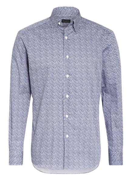 Ermenegildo Zegna Hemd Regular Fit, Farbe: DUNKELBLAU/ WEISS (Bild 1)