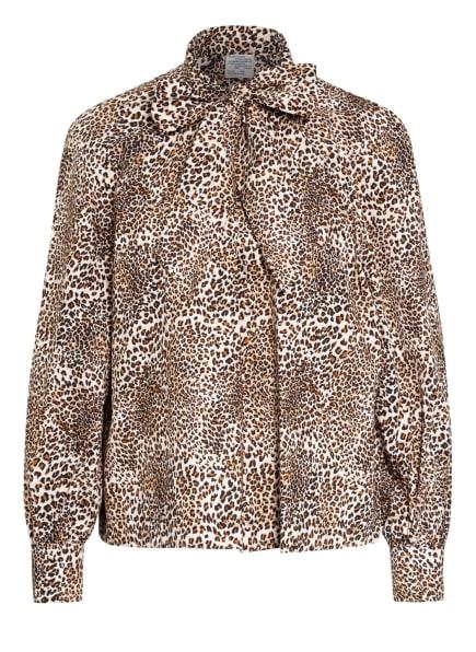 BAUM UND PFERDGARTEN Bluse MAYA, Farbe: CREME/ SCHWARZ/ BRAUN (Bild 1)