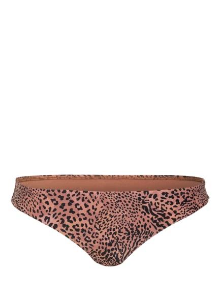 SEAFOLLY Bikini-Hose WILD ONES, Farbe: HELLBRAUN/ SCHWARZ (Bild 1)
