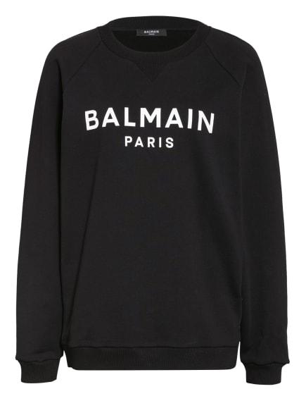 BALMAIN Sweatshirt, Farbe: SCHWARZ/ WEISS (Bild 1)
