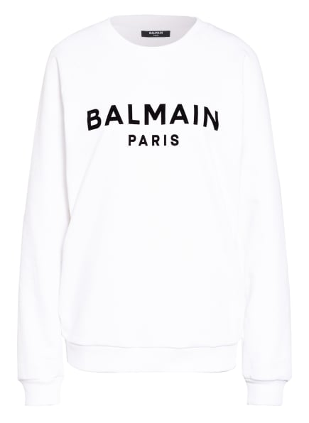 BALMAIN Sweatshirt, Farbe: WEISS/ SCHWARZ (Bild 1)