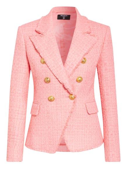 BALMAIN Tweed-Blazer , Farbe: ROSA (Bild 1)