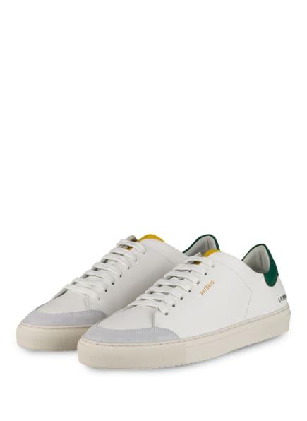 AXEL ARIGATO Sneaker CLEAN 90 TRIPLE, Farbe: WEISS/ GRÜN/ GELB (Bild 1)