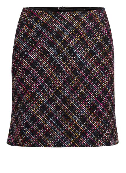 MORE & MORE Tweed-Rock , Farbe: SCHWARZ/ PINK/ ROT (Bild 1)