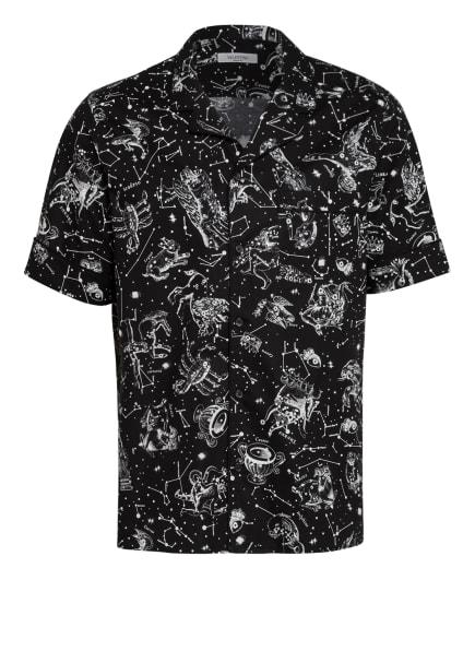 VALENTINO Resorthemd Comfort Fit , Farbe: SCHWARZ/ WEISS (Bild 1)