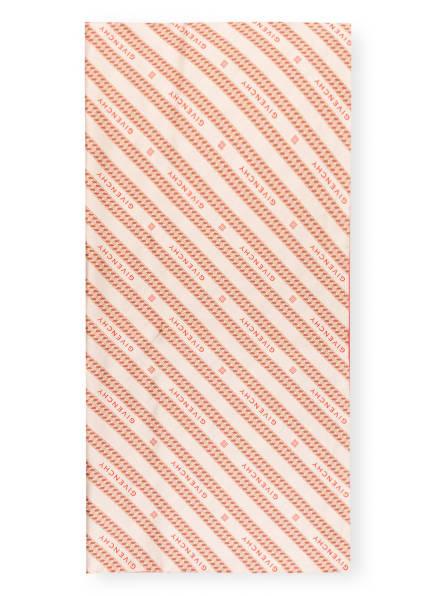 GIVENCHY Seidentuch, Farbe: BEIGE/ ROT (Bild 1)