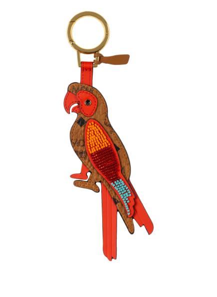 MCM Schlüsselanhänger, Farbe: COGNAC/ ROT/ ORANGE (Bild 1)