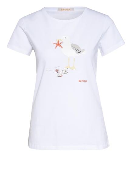 Barbour T-Shirt PENFOR, Farbe: WEISS (Bild 1)