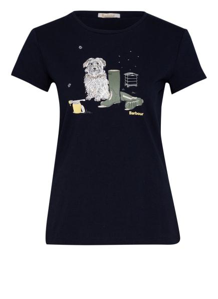 Barbour T-Shirt ROWEN, Farbe: DUNKELBLAU (Bild 1)