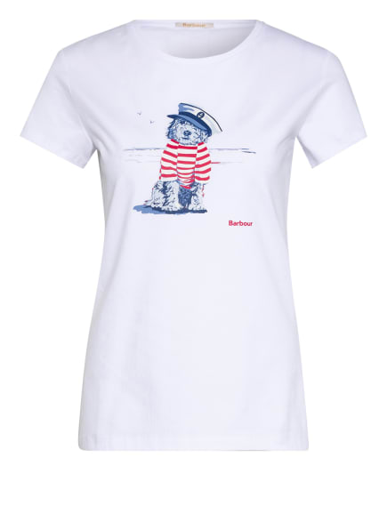 Barbour T-Shirt SOUTHPORT, Farbe: WEISS (Bild 1)
