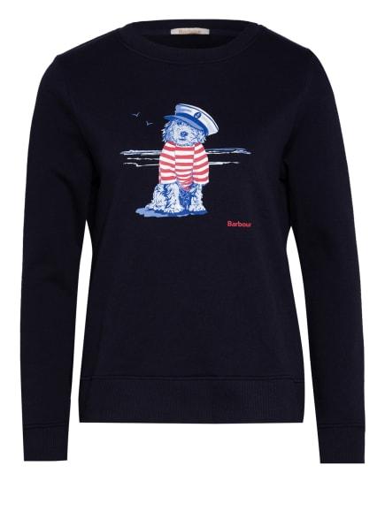 Barbour Sweatshirt STHPOVLYR, Farbe: DUNKELBLAU (Bild 1)