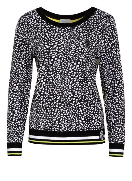 SPORTALM Pullover, Farbe: SCHWARZ/ WEISS/ NEONGELB (Bild 1)
