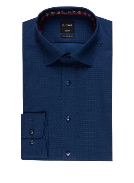 OLYMP Hemd Luxor modern fit, Farbe: DUNKELBLAU/ BLAU (Bild 1)