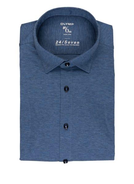 OLYMP Jerseyhemd No. Six 24/7 super slim, Farbe: BLAUGRAU (Bild 1)