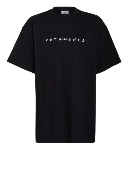 VETEMENTS Oversized-Shirt, Farbe: SCHWARZ/ WEISS (Bild 1)