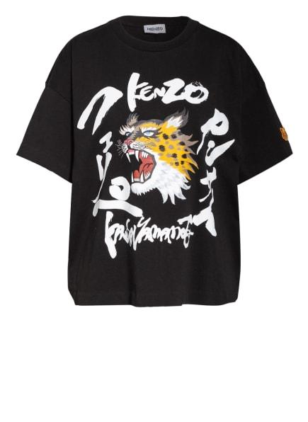 KENZO T-Shirt , Farbe: SCHWARZ/ WEISS/ DUNKELGELB (Bild 1)