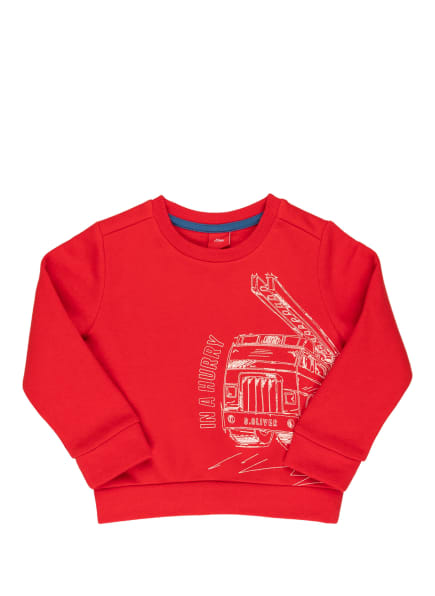 s.Oliver Sweatshirt, Farbe: ROT (Bild 1)