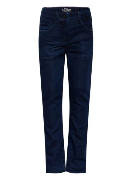 s.Oliver RED Skinny Jeans, Farbe: DUNKELBLAU (Bild 1)