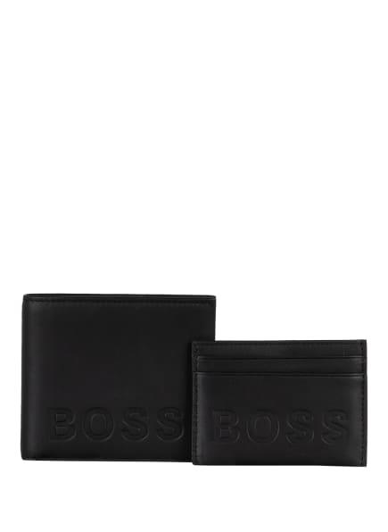 BOSS Set: Geldbörse mit Kartenetui, Farbe: SCHWARZ (Bild 1)