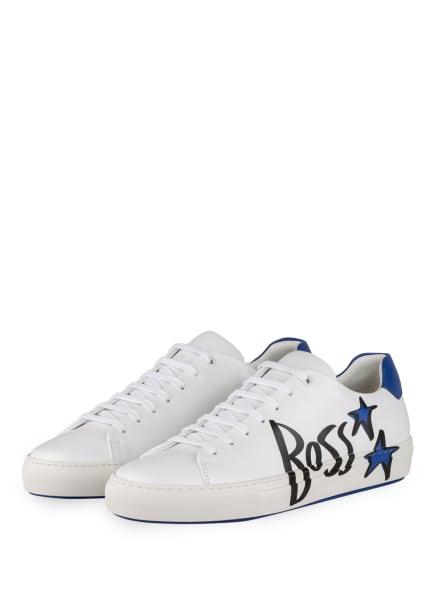 BOSS Sneaker MIRAGE , Farbe: WEISS/ BLAU/ SCHWARZ (Bild 1)