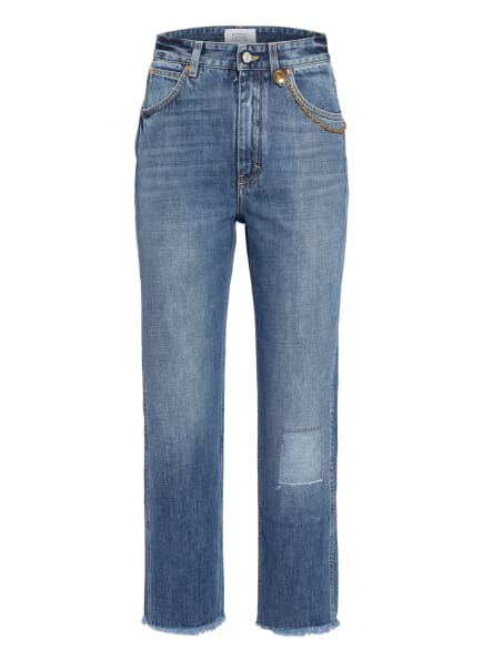GIVENCHY 7/8-Destroyed Jeans, Farbe: 420 MEDIUM BLUE (Bild 1)