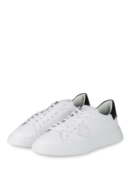 PHILIPPE MODEL Sneaker TEMPLE, Farbe: WEISS (Bild 1)