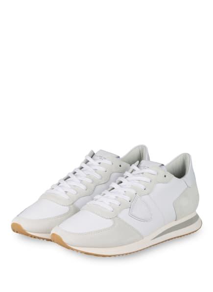 PHILIPPE MODEL Sneaker TRPX TROPEZ, Farbe: WEISS/ CREME (Bild 1)