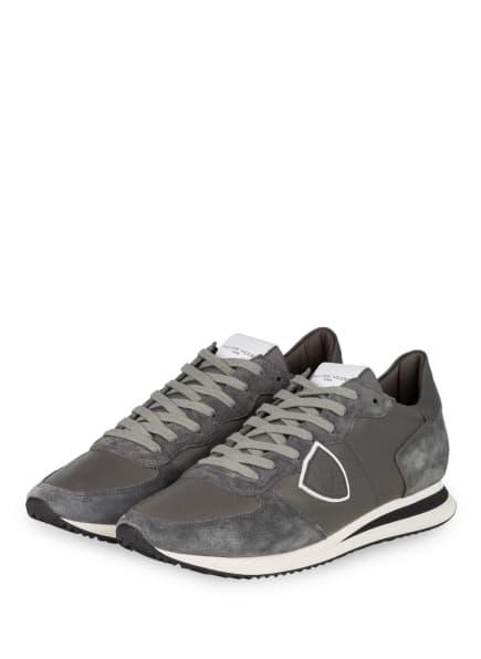 PHILIPPE MODEL Sneaker TRPX, Farbe: GRAU/ TAUPE (Bild 1)