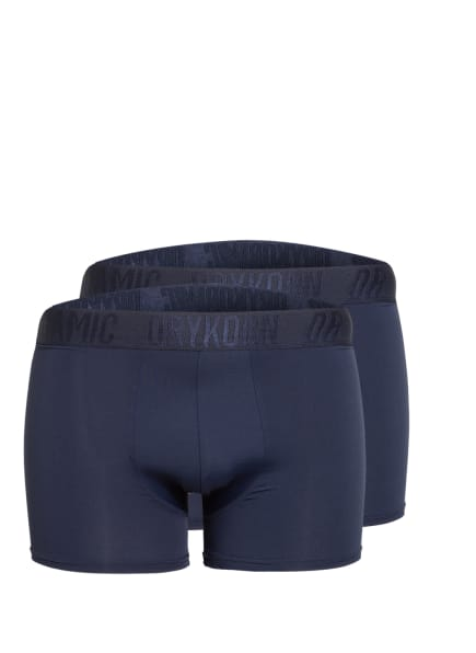 DRYKORN 2er-Pack Boxershorts CLIND , Farbe: 3000 blau (Bild 1)