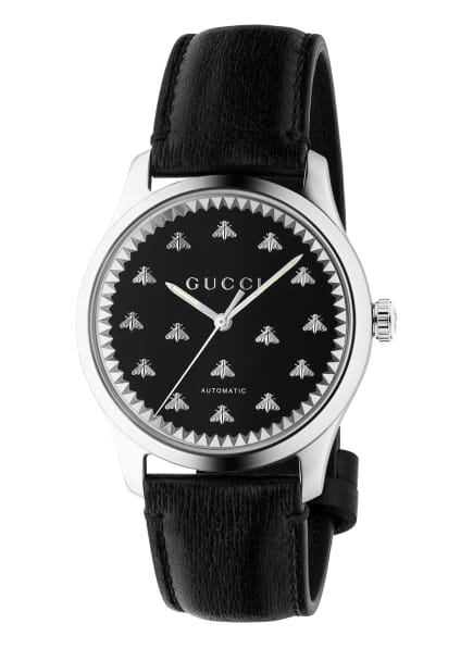 GUCCI Armbanduhr G-TIMELESS, Farbe: SCHWARZ/ SILBER (Bild 1)