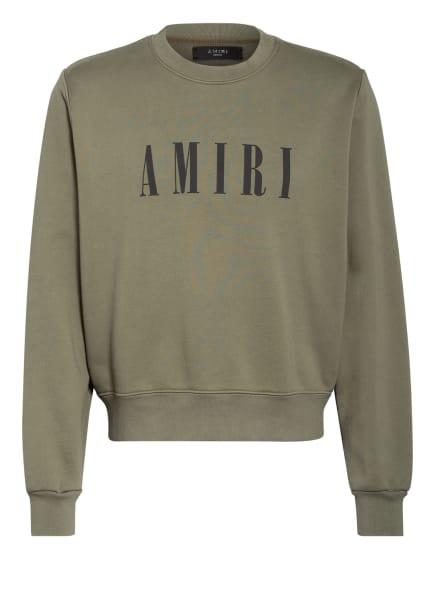 AMIRI Sweatshirt, Farbe: OLIV (Bild 1)