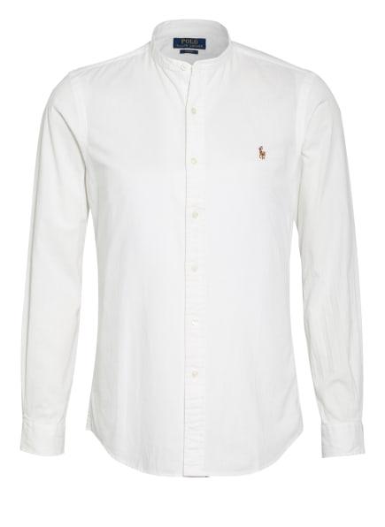 POLO RALPH LAUREN Hemd Slim Fit mit Stehkragen, Farbe: WEISS (Bild 1)